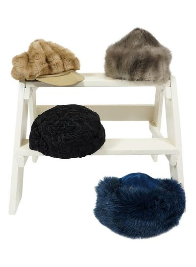 Vintage Hats: Fur Hats
