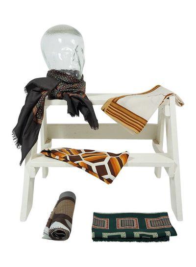 Vintage Scarves: Polyester / Silk Scarves