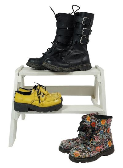 Vintage Shoes: Dr. Martens Look-a-Likes