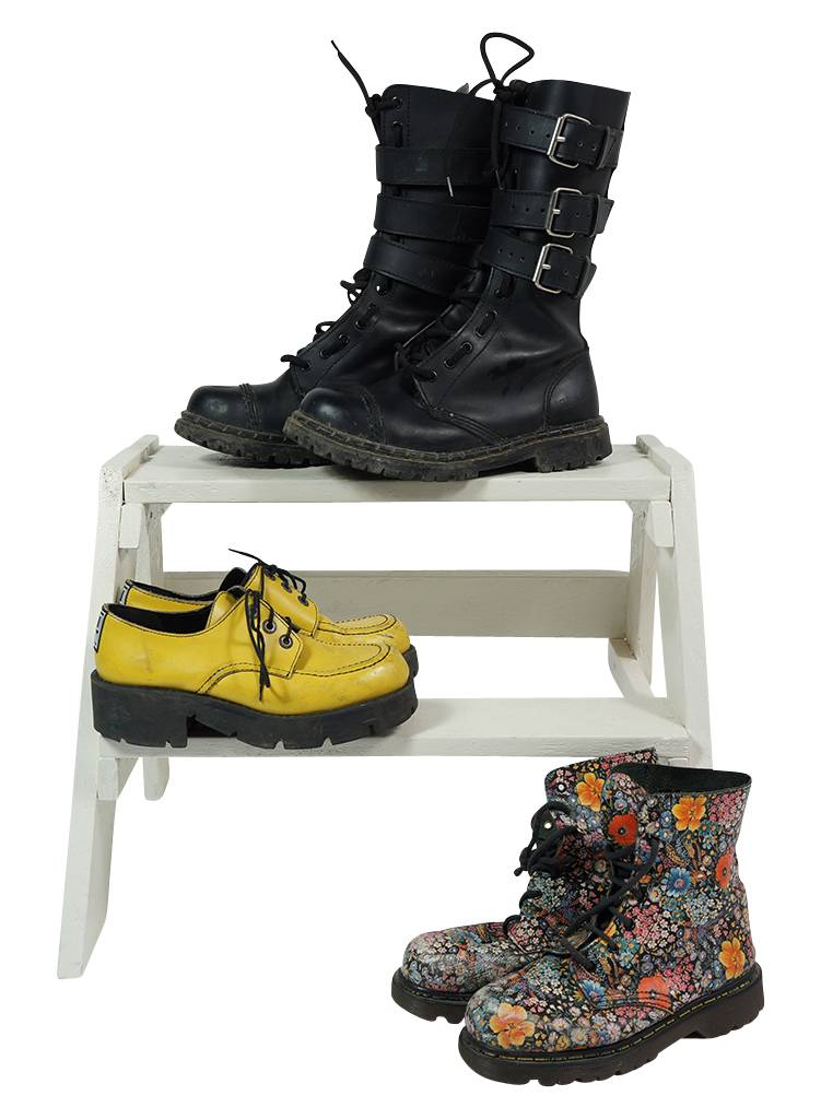 Vintage Shoes  Dr Martens Look-a-Likes - ReRags Vintage Clothing ... 951f86d3b