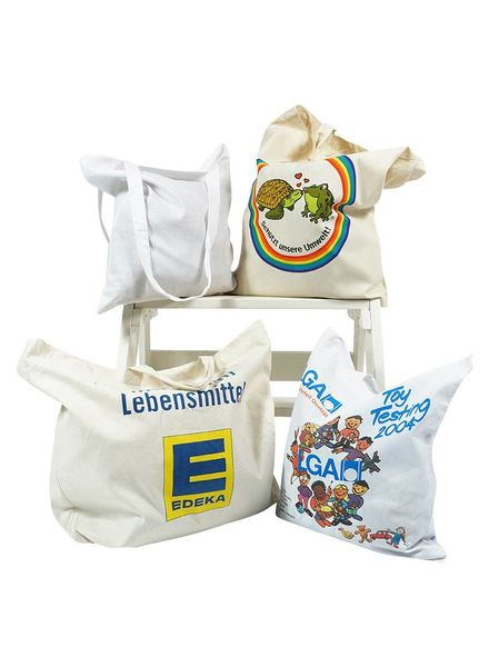 Vintage Bags: Cotton Shopping Bags