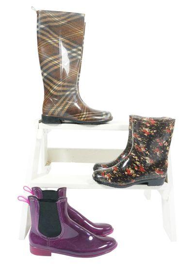 Vintage Shoes: Rain Boots