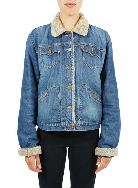 Vintage Jackets: Denim Jackets With Lining