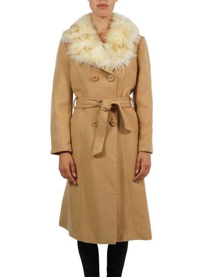 Manteaux Vintage: 70's Manteaux d'Hiver Femmes