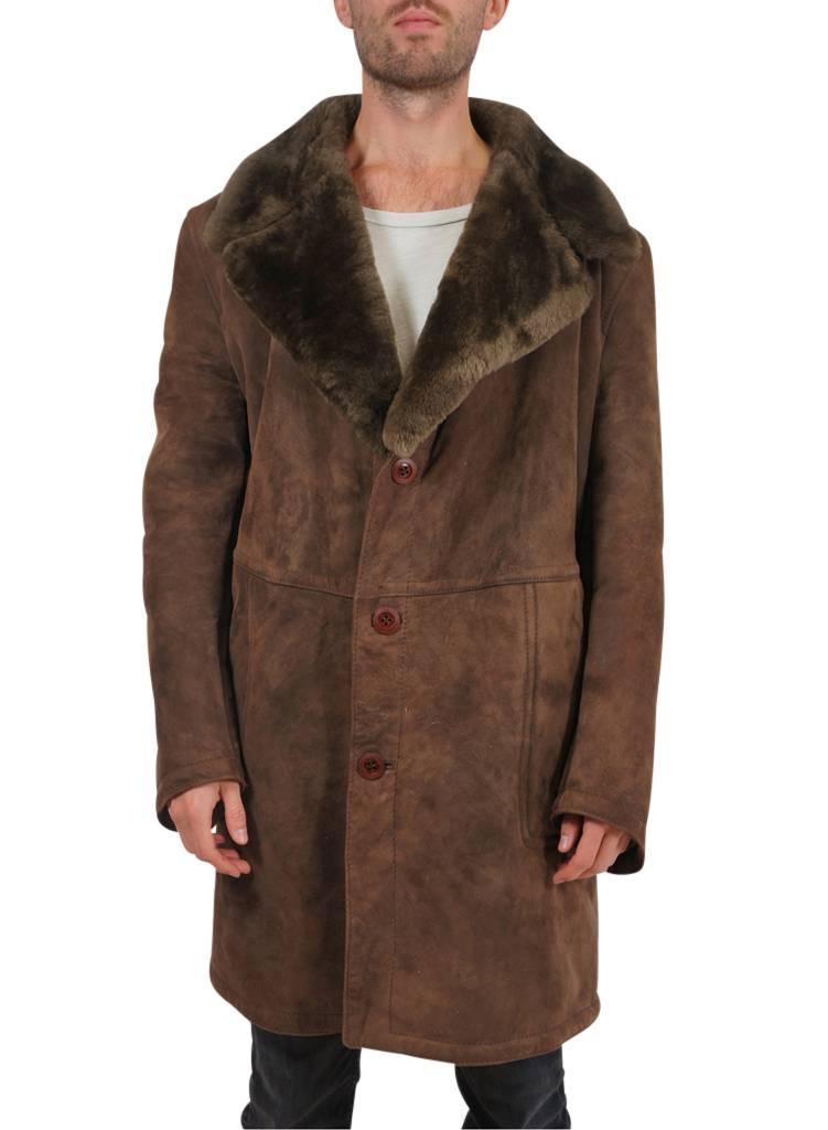 Vintage Coats: 70's Sheepskin Coats Mens - ReRags Vintage Clothing