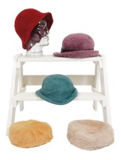 Vintage Hats: Angora Hats