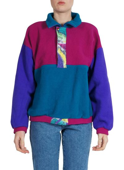 Vintage Sportswear: Fleece Sweaters
