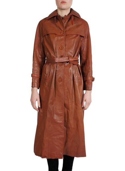 Vintage Coats: 70's Napa Leather Coats Ladies