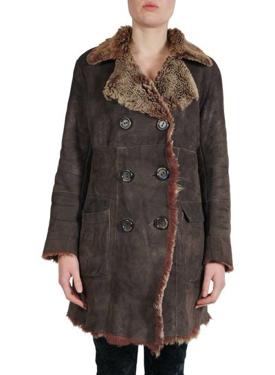 Vintage Coats: Faux Suede Lady Coats & Jackets