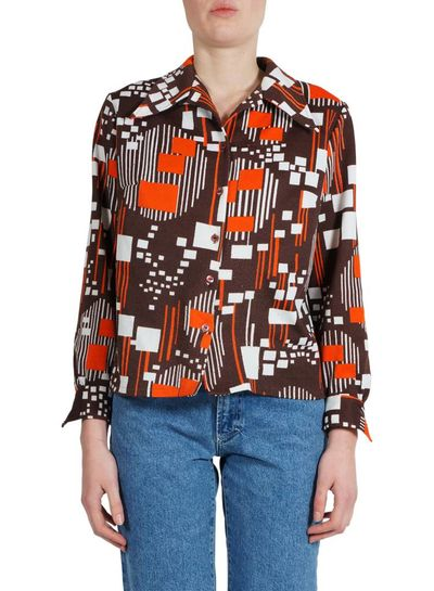 Vintage Tops: 70's Blouses