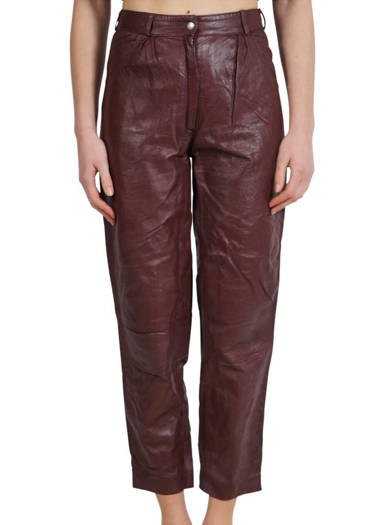 Vintage Pants 80 S Leather Pants Ladies Rerags Vintage