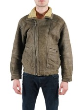 Vintage Jackets: Sheepskin Zip Jackets