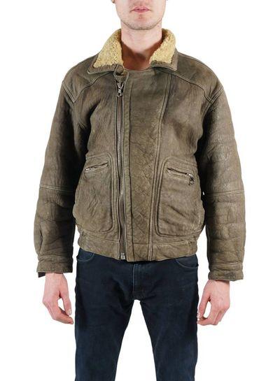 Vintage Jackets: Sheepskin Zip Jackets