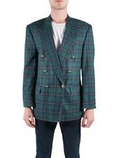 Vestes Vintage: Vestes Double Boutonnage Hommes
