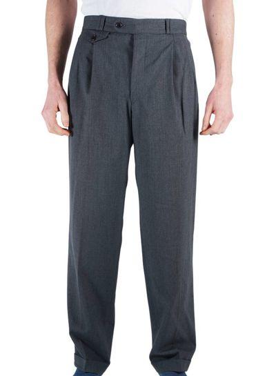 Pantalons Vintage: 40's Pantalons pour Hommes