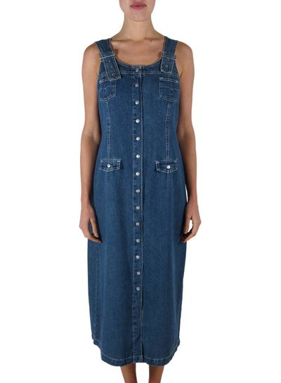 Vintage Dresses: Denim Dresses