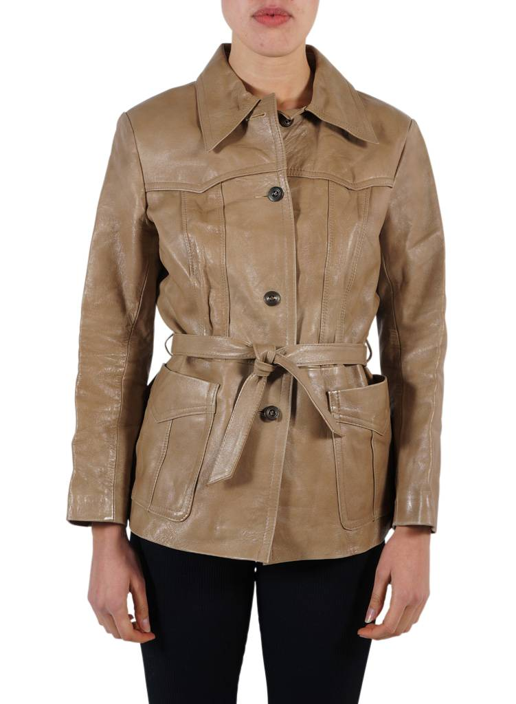 Vintage Jackets: 70's Napa Leather Jackets Ladies - ReRags Vintage ...