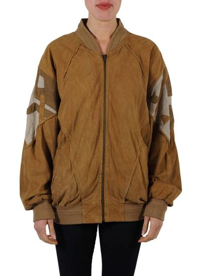 Vintage Jackets: Leather/Suede Bomber Jackets