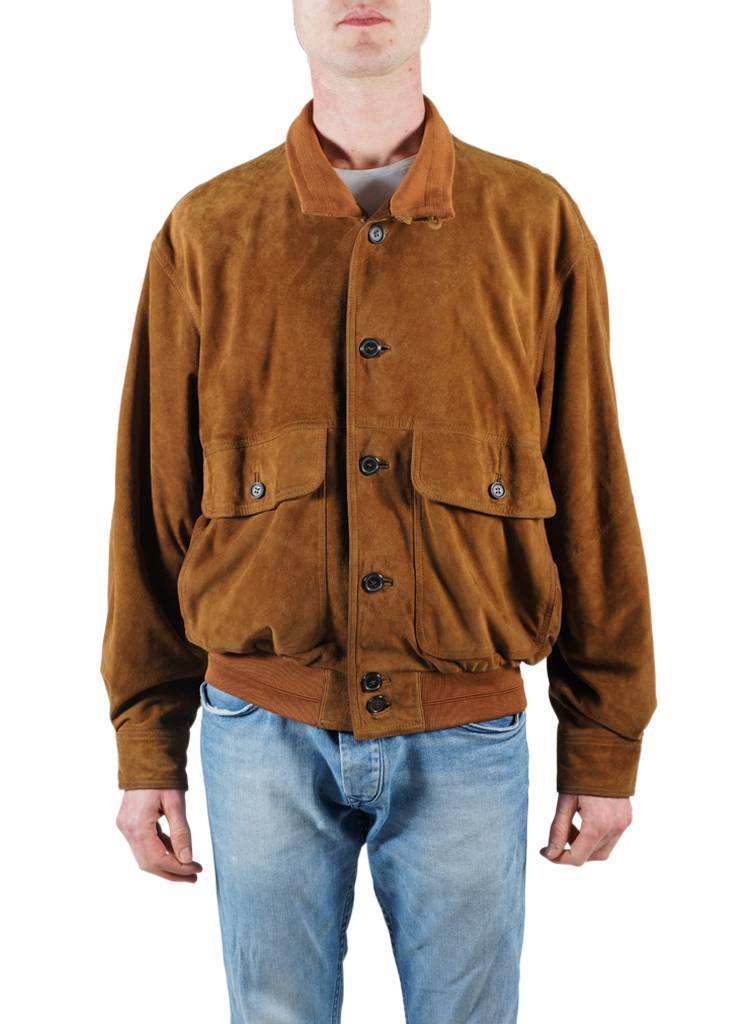 Vintage Jackets: Leather Bomber Jackets