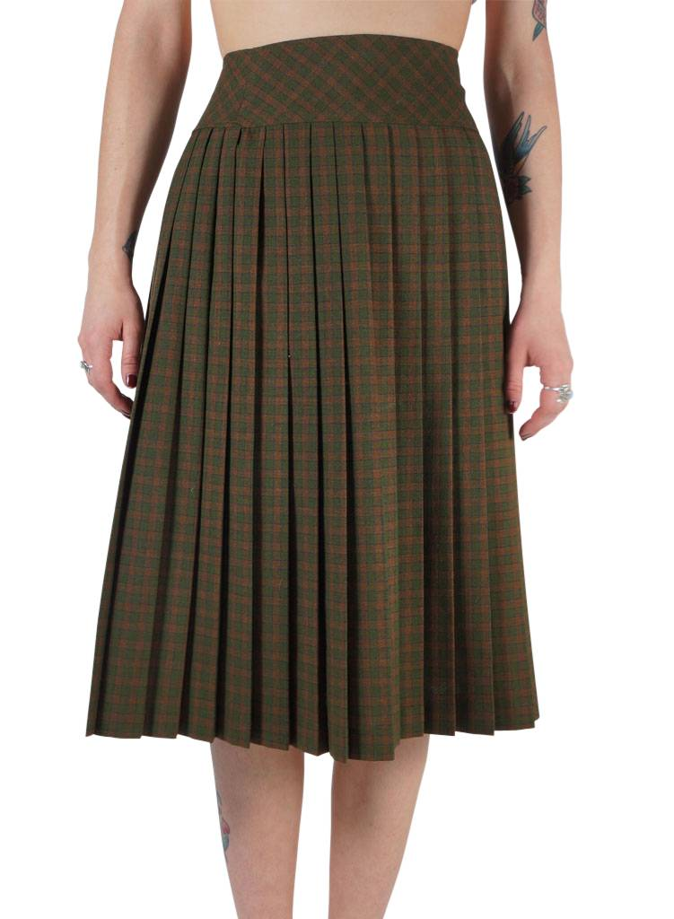 pleated skirt rerags vintage clothing wholesale