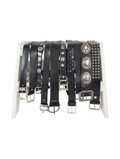 Vintage Belts: Black Leather Belts
