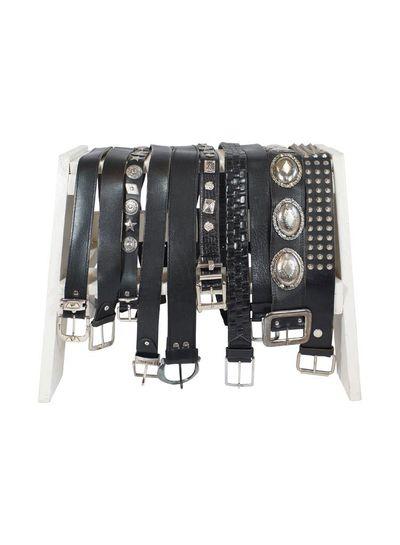 Vintage Belts: Black Leather Belts