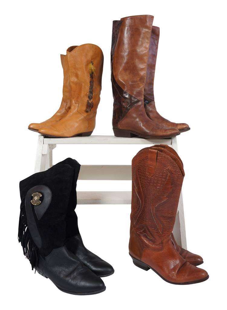 vintage shoes 80 s boots rerags vintage clothing wholesale