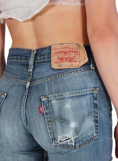 Vintage Pants: Levi's 501 Jeans - 3rd Choice