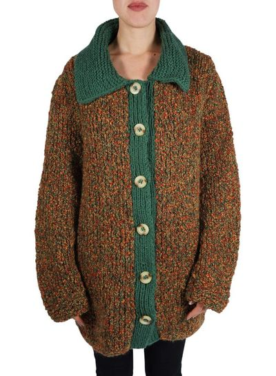 Vintage Knitwear: Heavy Knitted Cardigans / Sweaters