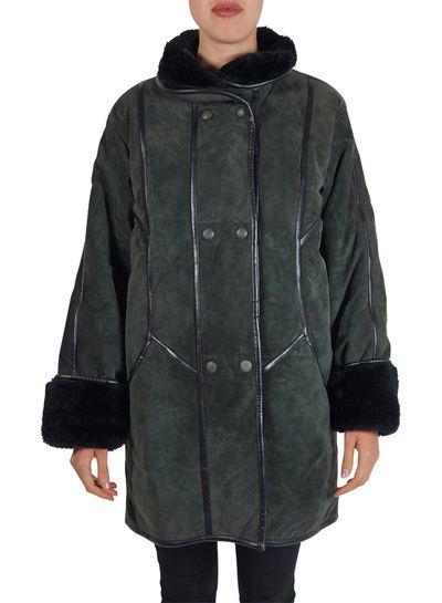 Manteaux Vintage: 90's Manteaux en Peau de Mouton Femmes - Copy