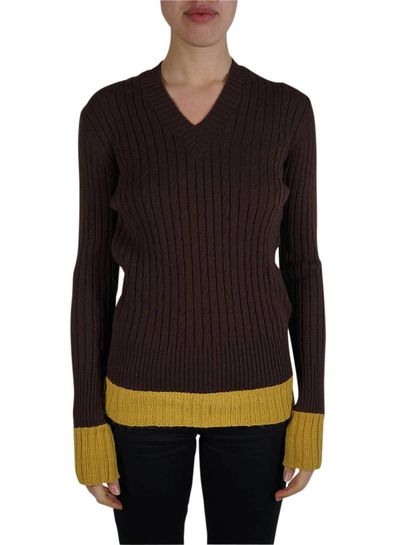 Vintage Knitwear: 70's V-Neck Jumpers