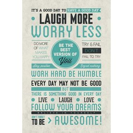 Be Awesome - Maxi  Poster