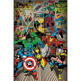 Marvel Here Come The Heroes - Maxi Poster