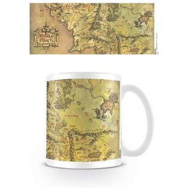 The Lord of the Rings Middle Earth - Mug