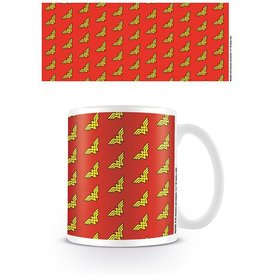 Dc Originals Wonder Woman Logo Pattern - Mug