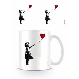 Girl With The Balloon Banksy - Mug