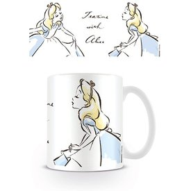 Alice In Wonderland Teatime With Alice - Mug