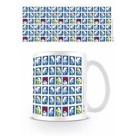 The Smurfs Pattern - Mug