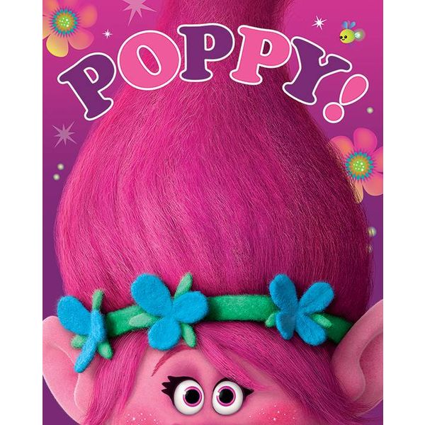 trolls poppy mini poster hole in the wall hole in the wall. Black Bedroom Furniture Sets. Home Design Ideas