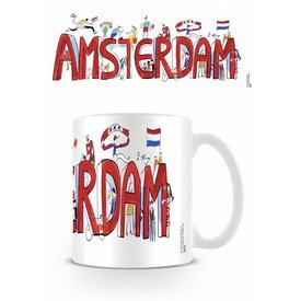 Guus Van Eck Amsterdam - Mug