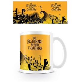 Nightmare Before Christmas Graveyard Scene - Mug