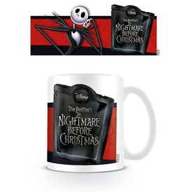 Nightmare Before Christmas Jack Banner - Mug