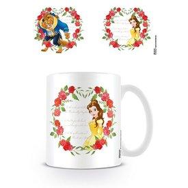 Beauty And The Beast Roses - Mug