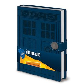 Doctor Who Tardis - Premium A5 Notebook