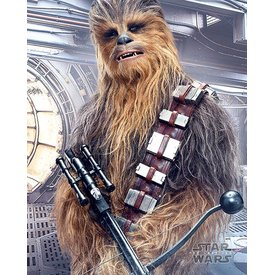 Star Wars The Last Jedi  Chewbacca Bowcaster - Mini Poster