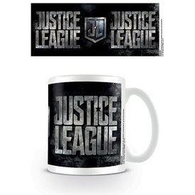 Justice League Movie  Metallic Logo - Mok