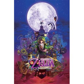 The Legend Of Zelda  Majora's Mask - Maxi Poster