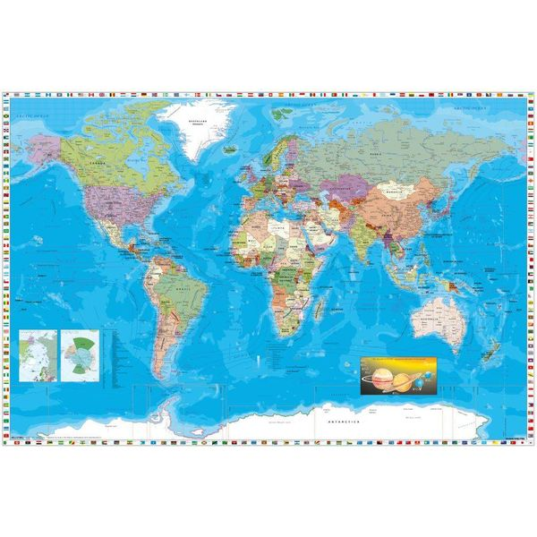 World map maxi poster hole in the wall hole in the wall world map maxi poster gumiabroncs Images