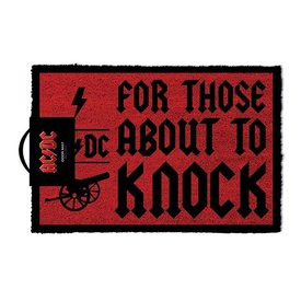 AC/DC For Those About To Knock - Door Mat