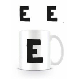 Alphabet Mug Letter E